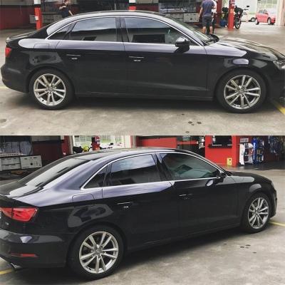 Audi com molas esportivas Eibach